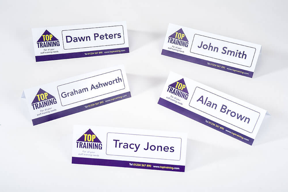 Name card tents acurnamedia name card tents reheart Gallery
